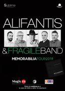 Arad: Alifantis & Fragile Band - Turneul Memorabilia