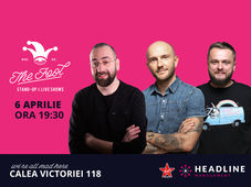 The Fool: Stand-up comedy cu Bordea, Cortea si Vio