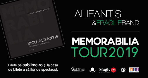 Pitesti: Alifantis & Fragile Band - Turneul Memorabilia