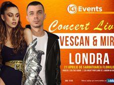 Concert Vescan si Mira in Londra