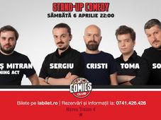 Show #2 - Stand Up Comedy cu Sorin, Sergiu, Toma & Cristi Popesco @ Comics Club