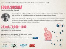 Conferinta: FOBIA SOCIALĂ