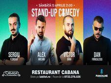 Stand-up comedy cu Sergiu Floroaia, Alex Mocanu, Victor Bara & Dan Frinculescu