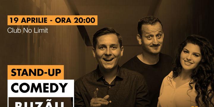Buzău: Stand-up comedy cu Tănase, Mane și Ioana
