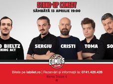 Show #1 : Stand Up Comedy cu Sorin, Sergiu, Toma & Cristi @ Comics