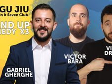 Stand Up Comedy x3 cu Gabriel Gherghe, Victor Dragan si Victor Bara