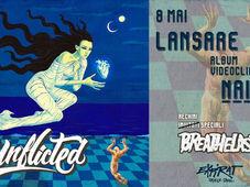 Unflicted - lansare album Naiade / Breathelast / Expirat / 08.05