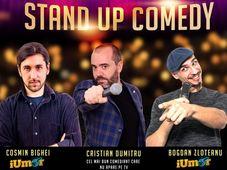 Stand Up Comedy Bucuresti Sambata cu Zloteanu, Dumitru si Bighei