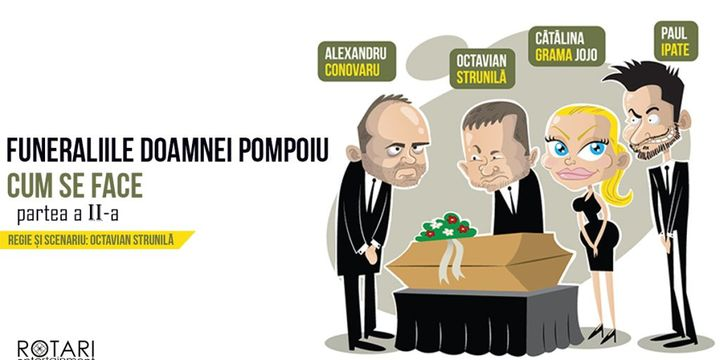 Cum se face 2 @ Funeraliile Doamnei Pompoiu - Sibiu