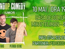 SIRET Stand-up Comedy cu Bobi Dumitraş & Petrică Iştoc