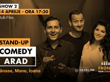 Arad 2: Stand-up comedy cu Tănase, Mane și Ioana
