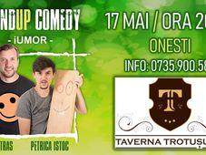 ONESTI Stand-up Comedy cu Bobi Dumitraş & Petrică Iştoc