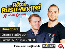 Hunedoara: Stand-up Comedy - Râzi cu Rusu și Andrei