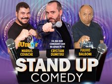 Stand-up comedy night cu Cristian Dumitru, Marius Covache & Fulvio Balboni.