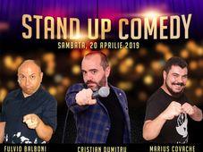 Stand-Up Comedy Sambata cu Covache, Dumitru si Fulvio