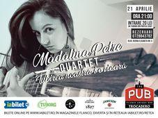 Mădălina Petre Quartet – Iubirea noastră-i o vioară // Live la The PUB
