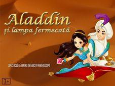Aladdin si lampa fermecată la Artist Café