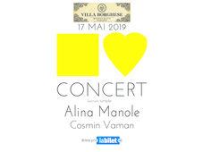Concert Alina Manole, Invitat Cosmin Vaman