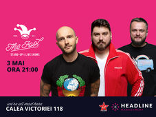 The Fool: Stand-up comedy cu Bordea, Micutzu și Cortea