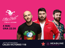 The Fool: Stand-up comedy cu Bordea, Micutzu și Raul Gheba