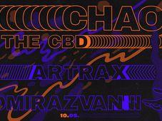 Vitamine w/Chaos in the CBD, Tomirazvan & Artrax at /FORM SPACE