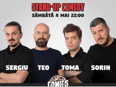 Show #2 Stand Up Comedy cu Sorin, Sergiu, Toma & Cristi @ Comics Club
