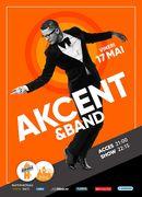 Concert Akcent & Band la Berăria H