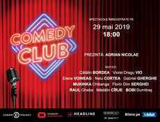 Comedy Club: Stand-up comedy cu Bordea, Vio & Friends 1