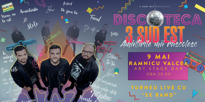 Ramnicu Valcea: Turneu Discoteca - Amintirile ma rascolesc - 3 Sud Est