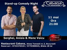 Stand-up comedy night cu Anisia, Serghei & Mane Voicu