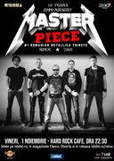 Concert Tribut Metallica cu Masterpiece