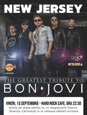 Best Bon Jovi Live Tribute cu New Jersey