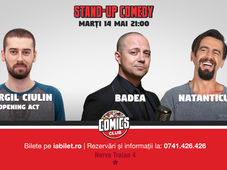 Stand Up Comedy cu Badea, Natanticu & Virgil Ciulin la Comics Club