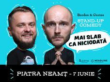 Piatra Neamt: Mai slab ca niciodată cu Bordea, Cortea și Florin