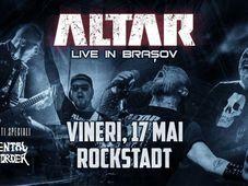 Altar / Mental Disorder live in Rockstadt