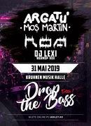 Drop the Bass editia 1 - Argatu x ROA x Dj Lexi