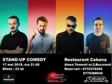 Stand-up comedy cu Sergiu Floroaia, Alex Mocanu, Dan Frinculescu & Daniel Has