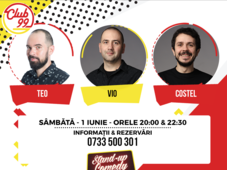 Stand-up comedy cu Teo, Vio si Costel