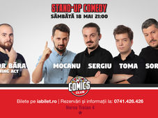 Stand Up Comedy cu Sorin, Sergiu, Toma & Alex Mocanu @ Comics Club