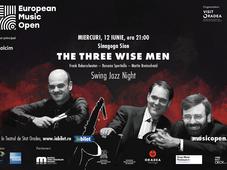 "Oradea: Swing Jazz Night - ""THE THREE WISE MEN"""