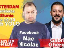 Amsterdam: Nae Nicolae VS Gabriel Gherghe - Stand Up Comedy