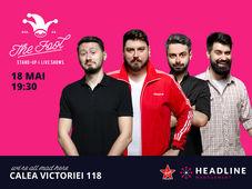The Fool: Stand-up comedy cu Micutzu, Bucălae, Claudiu și Geo