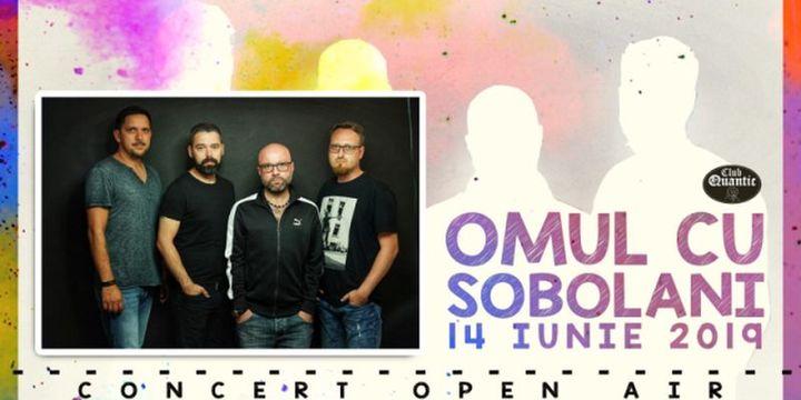 Concert OPEN AIR - Omul cu Șobolani în premieră la Quantic