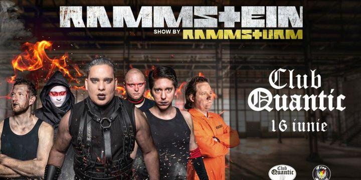 Rammsturm /Hu - Trupa Tribut Rammstein în premieră la Quantic