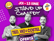 Stand Up Comedy - Teo, Vio si Costel la Beraria H