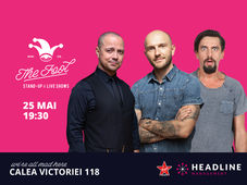 The Fool: Stand-up comedy cu Bordea, Badea și Natanticu
