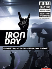 Iron Day la The Pub cu Paradox Theory, Lexem si Kunnstra
