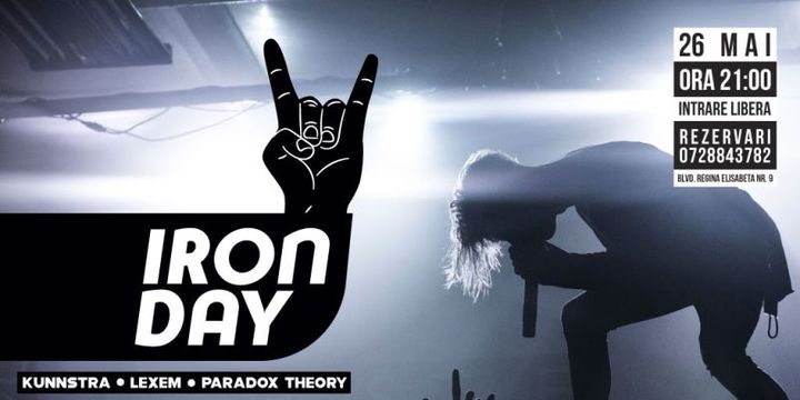 Iron Day la The Pub cu Paradox Theory, Lexem si Kunnstra