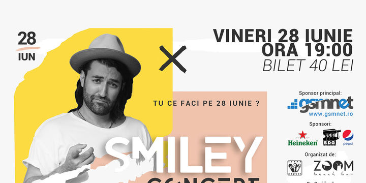 Concert Smiley Scena 3 Papuci
