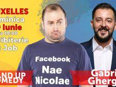Bruxelles - Nae Nicolae VS Gabriel Gherghe - Stand Up Comedy